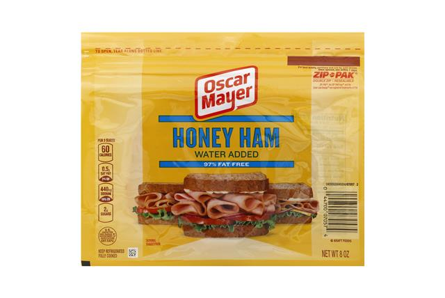 OSCAR MAYER Cold Cuts Honey Ham 8oz Pack