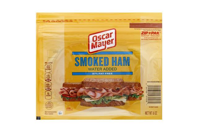 OSCAR MAYER Cold Cuts Smoked Ham 8oz Pack