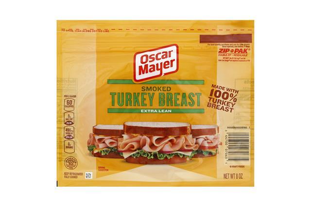 OSCAR MAYER Cold Cuts Smoked Turkey Breast 8oz Pack