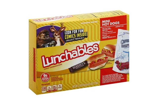 OSCAR MAYER LUNCHABLES Mini Hot Dogs 9.3 0Z BOX