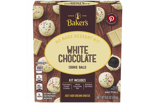 Baker's Cookie Ball Dessert Kits, Chocolate Truffle, 8.6Oz, Makes 12 Cookie Balls