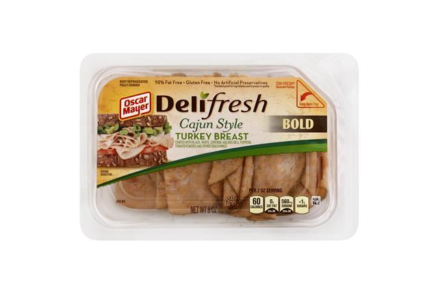 OSCAR MAYER Deli Fresh Cajun Style Turkey Breast 8oz Tub