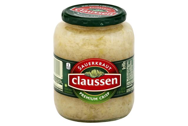 CLAUSSEN Premium Sauerkraut 32 oz. Jar