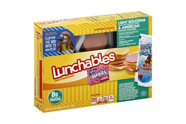 OSCAR MAYER LUNCHABLES Bologna & Amer Cracker Combo 8.8 OZ BOX
