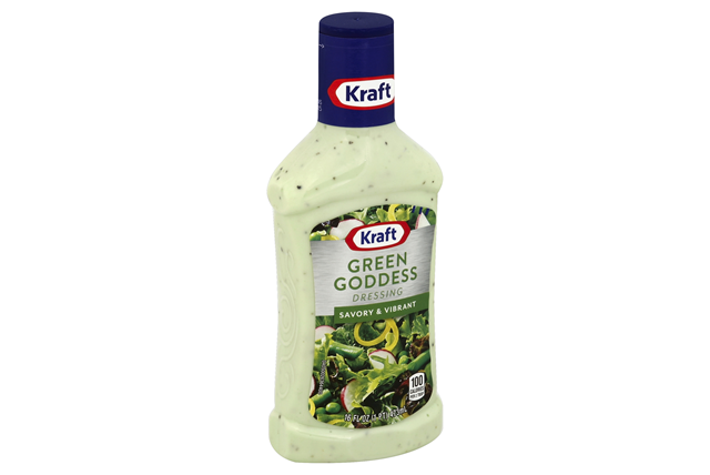 Kraft Green Goddess Dressing 16 fl. oz. Bottle