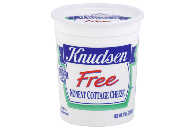 Knudsen Free - Nonfat Cottage Cheese 32 Oz Tub