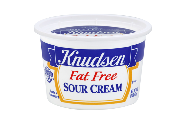 Knudsen Free - Fat Free Sour Cream 16 Oz Tub