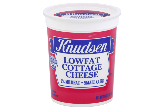 Knudsen Low Fat Cottage Cheese 32 Oz Tub