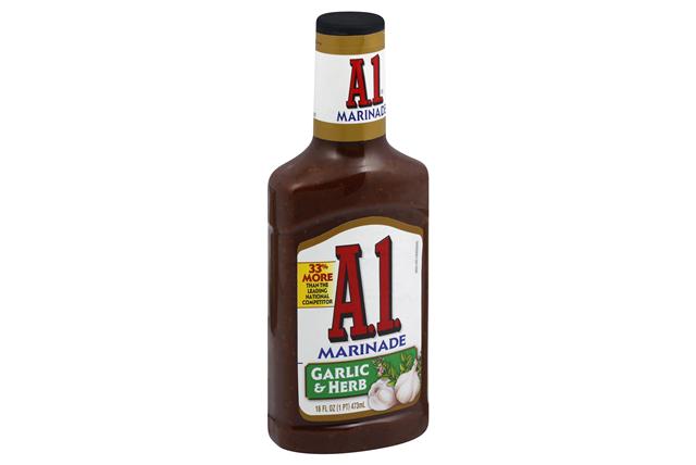 A 1 Garlic & Herb Marinade 16 Fl Oz Squeeze Bottle