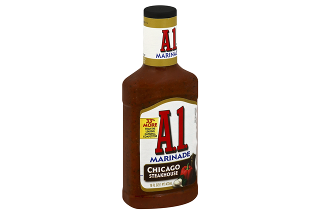 A 1 Chicago Steakhouse Marinade 16 Fl Oz Squeeze Bottle