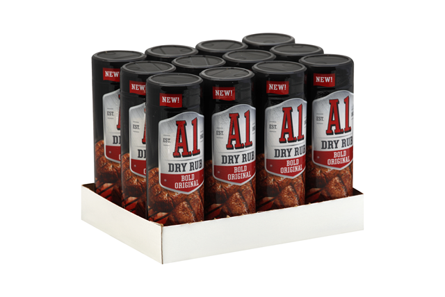 A.1. Bold Original Dry Rub 4.5 oz Shaker