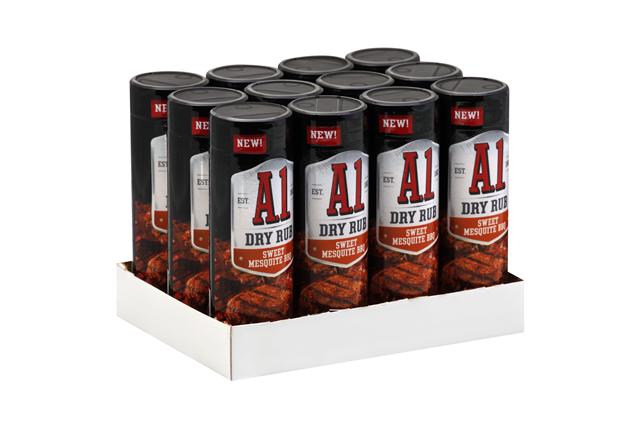 A.1. Sweet Mesquite BBQ Dry Rub 4.5 oz Shaker