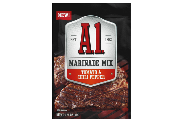 A.1. Tomato & Chili Pepper Marinade Mix 1.25 oz Packet