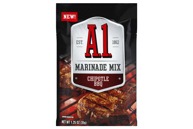 A.1. Chipotle BBQ Marinade Mix 1.25 oz Packet