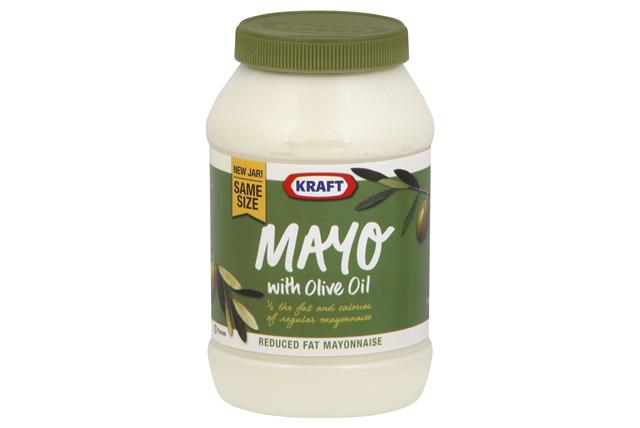 KRAFT Mayonnaise olive  30 FO Jar