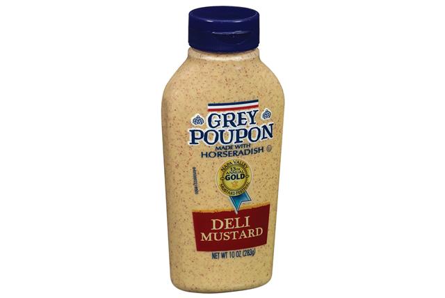 Grey Poupon Deli Mustard 10 Oz Squeeze Bottle