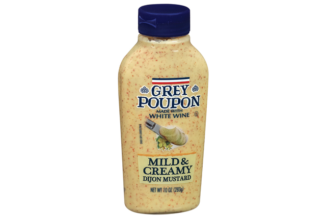 Grey Poupon Dijon Mild & Creamy Mustard 10 Oz Squeeze Bottle