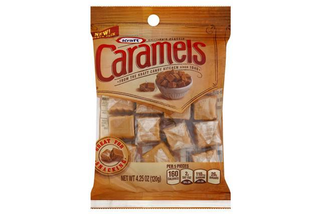 Kraft Caramels Snack Bags 4.25Oz Bag