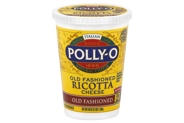 Polly-O Old Fashioned Whole Milk Ricotta Cheese 48Z Tub