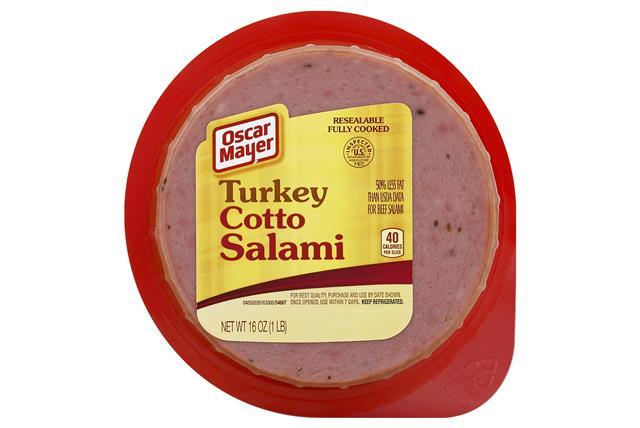 OSCAR MAYER Cold Cuts Turkey Cotto Salami 16oz Well
