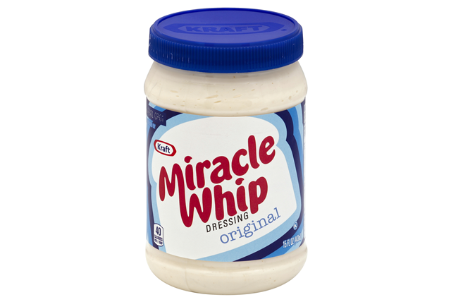 KRAFT MIRACLE WHIP Dressing Original 15 fl. oz. Jar ...
