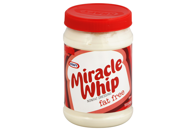 KRAFT MIRACLE WHIP Dressing Fat Free 15 fl. oz. Jar
