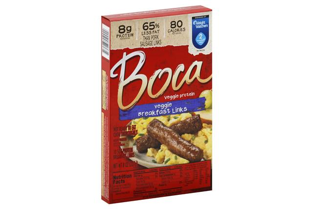 BOCA Breakfast Links Vegan 10 ct Box