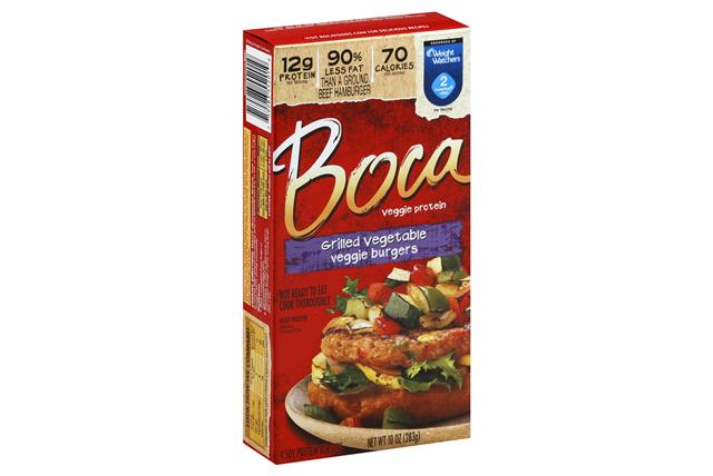 BOCA Grilled Vegetable Burgers 4 ct Box
