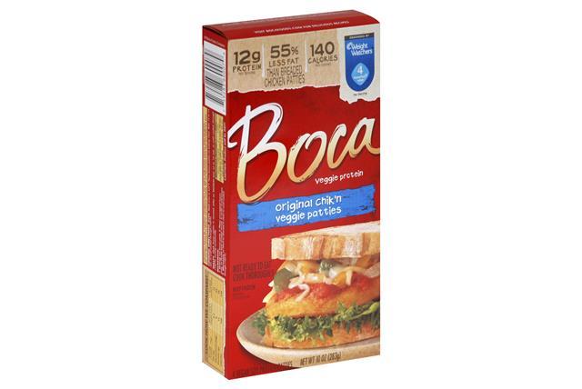 BOCA Chik'n Vegan Patties 4 ct Box