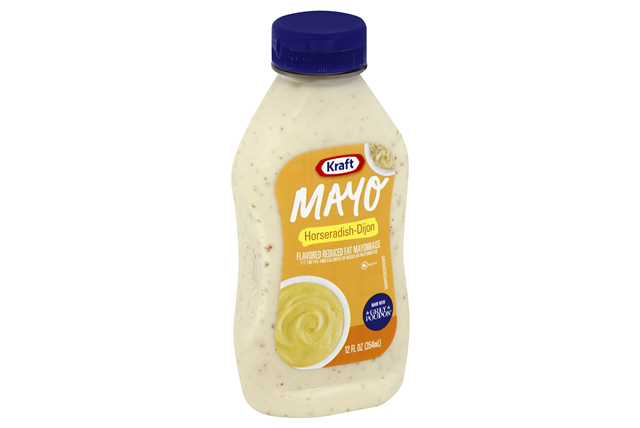 KRAFT Mayonnaise Horseradish 12 oz Bottle