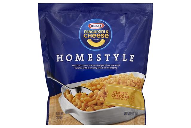 Kraft Homestyle Classic Cheddar Macaroni & Cheese Dinner 12.6 oz. Bag