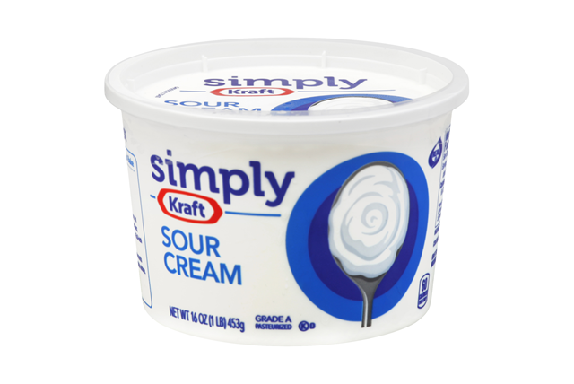 Simply Kraft Sour Cream 16 Oz. Tub