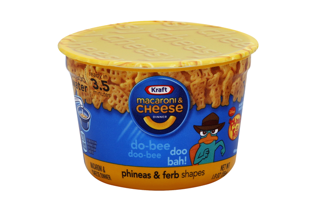 Kraft Ninja Turtle Shapes Macaroni & Cheese Dinner 1.9 oz. Microcup
