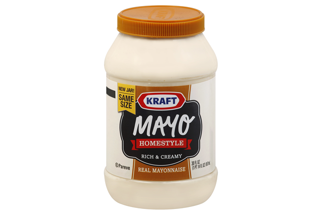 KRAFT Mayo Homestyle Mayonnaise  30 FO Jar