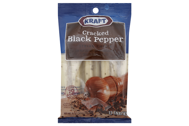 Kraft Cracked Black Pepper String Cheese
