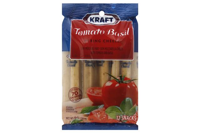 Kraft Tomato Basil String Cheese
