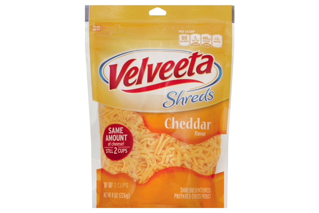 Kraft Cheddar Flavor Velveeta Shreds 8 Oz. Bag