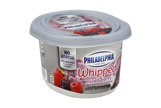 Philadelphia Mixed Berry Cream Cheese-Whipped 8 Oz Tub