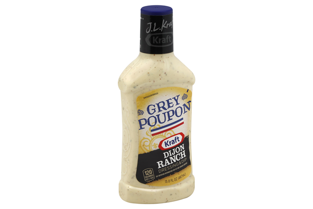 J. L. Kraft Grey Poupon Dijon Ranch Dressing & Dip 15.8 fl. oz. Bottle