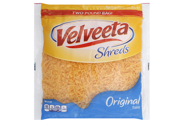 Velveeta Shreds Original Flavor Cheese 32 Oz. Bag