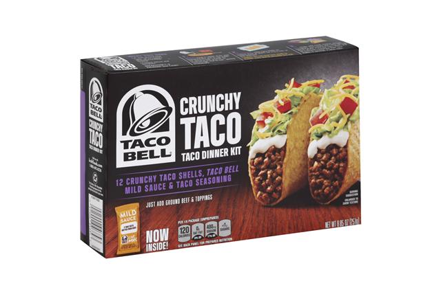 Taco Bell(R) Crunchy Taco Dinner Kit 12 ct