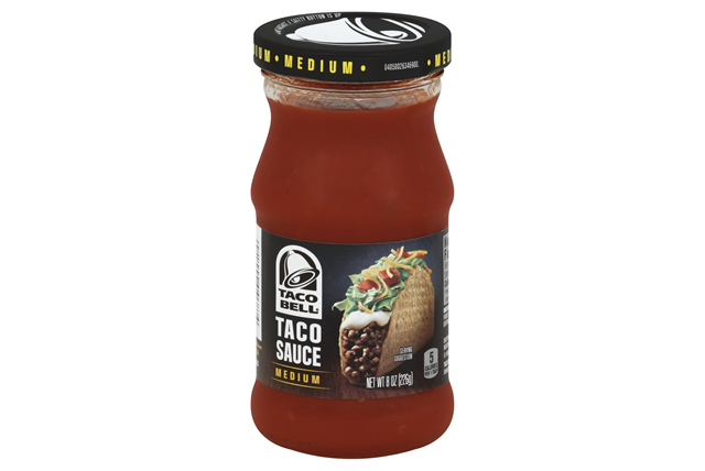 Taco Bell(R) Medium Taco Sauce 8 oz. Jar
