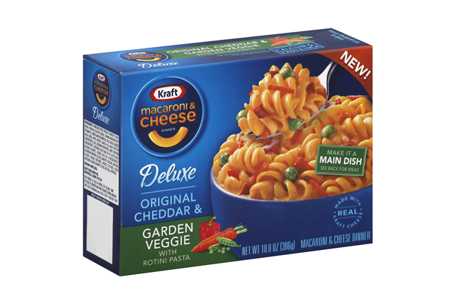 Kraft Deluxe Mac & Cheese Garden Vegetable