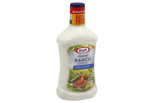 KRAFT Ranch Dressing 24 oz Bottle
