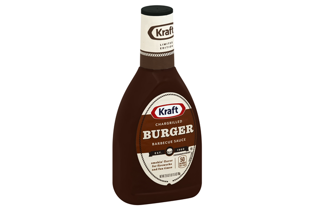 KRAFT Chargrilled Burger BBQ Sauce