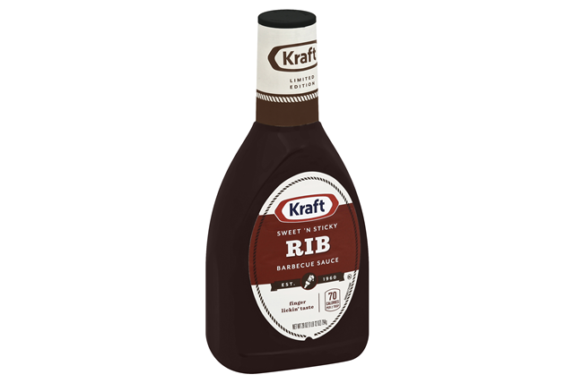 KRAFT Sweet  'n Sticky Rib Barbecue Sauce
