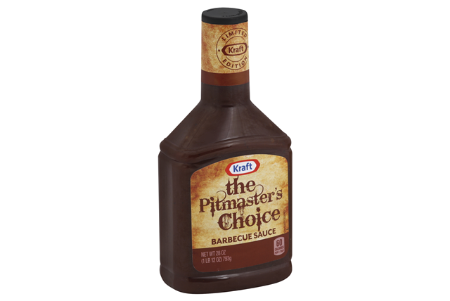 KRAFT The Pitmaster's Choice Barbecue Sauce