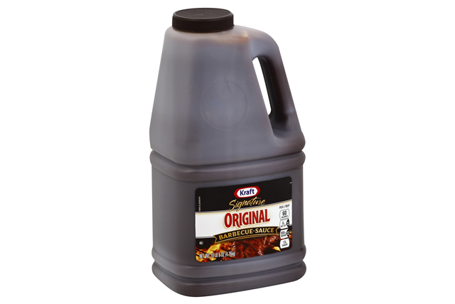 Kraft Signature Original Barbecue Sauce 168 oz. Jug
