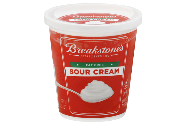 Breakstone's Fat Free Sour Cream 8 Oz. Tub