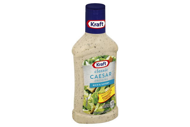 KRAFT Classic Caesar Fat Free Dressing 16 oz Bottle